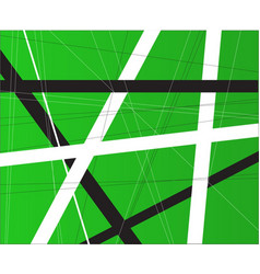 Green criss cross background vector