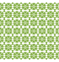greenery leaf ornament floral seamless pattern vector image