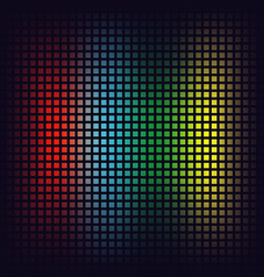 red blue green and yellow squares vector image