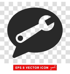 Service Message Eps Icon vector image