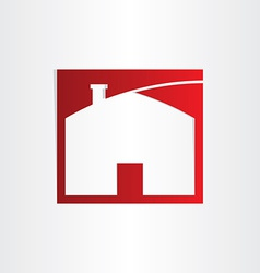sweet home icon design vector image