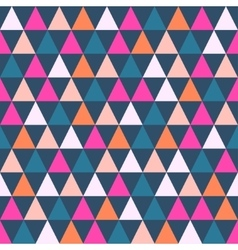Abstract color pattern of geometric shapes vector