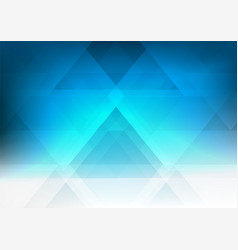 Blue geometric style gradient graphic abstract vector