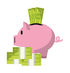 business and money vector image