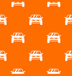 Car pattern seamless vector