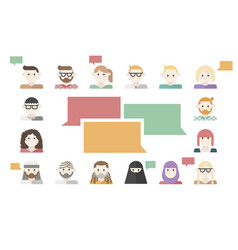 customers feedback concept vector image