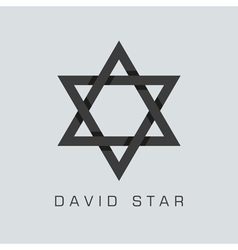david star symbol vector image