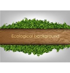 Environmental background banner vector