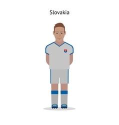 Football kit Slovakia vector
