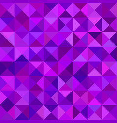 Geometrical abstract triangle mosaic pattern vector