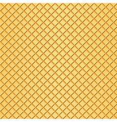 Waffle background vector