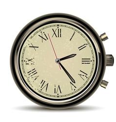 clocks vintage vector image