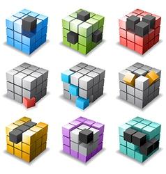 Cube vector