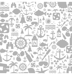 Sea a background vector image vector image