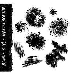 ink splat vector image