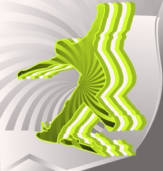 modern sports vector image