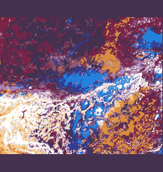 Abstract art acrylic pour picture photo good for vector
