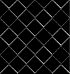 Black And White tile seamless background in grunge vector image