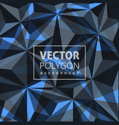 Creative lowpoly background vector