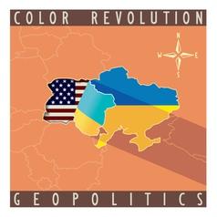Crisis in Ukraine vector image