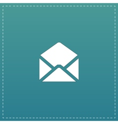 Envelope Mail icon Flat design style vector