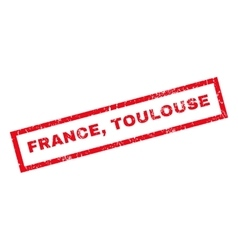 France Toulouse Rubber Stamp vector