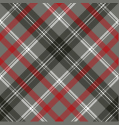 Gray check plaid pixel seamless pattern vector