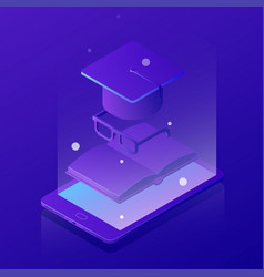 Isometric learning online concept vector