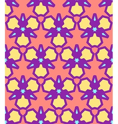 Pink yellow purple blue abstract geometric vector