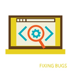 Process of fixing bugs vector