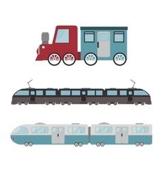 Railroad train isolated icon design vector