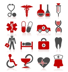 Medical a symbol vector image vector image