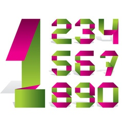 number tape vector image
