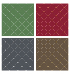 four backgrounds vector image