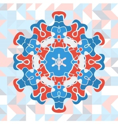 Mandala art vector image vector image