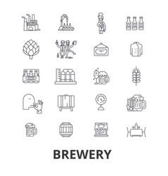 brewery beer tap pub winery distillery ke vector image vector image