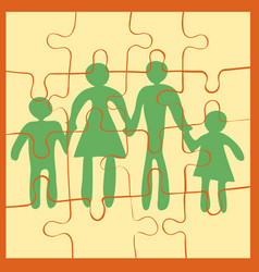 become together as one vector image