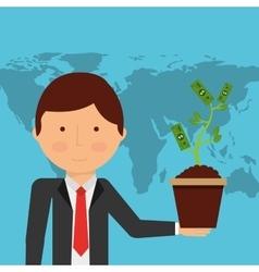 Financial startup vector