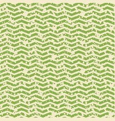 greenery and white zigzag spotted seamless pattern vector image