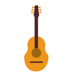 Guitar traditional acoustic music vector
