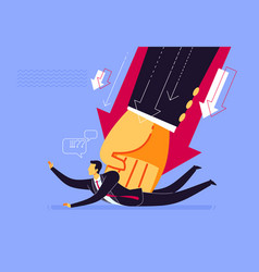 heavy task and responsibility vector image