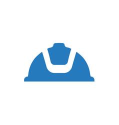 Helmet icon vector