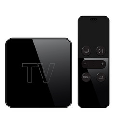 Multimedia and tv box receiver and player with vector