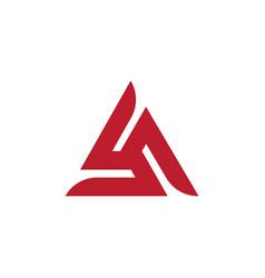 Triangle icon design vector