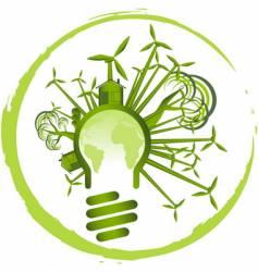 environment design vector image