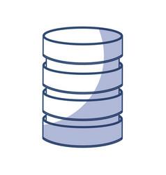 Storage database disks vector