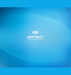 abstract blue background with curve lines smooth vector image