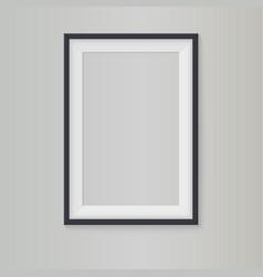 Blank frame vector