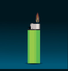cigarette lighter vector image