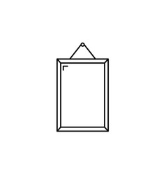 frame icon vector image